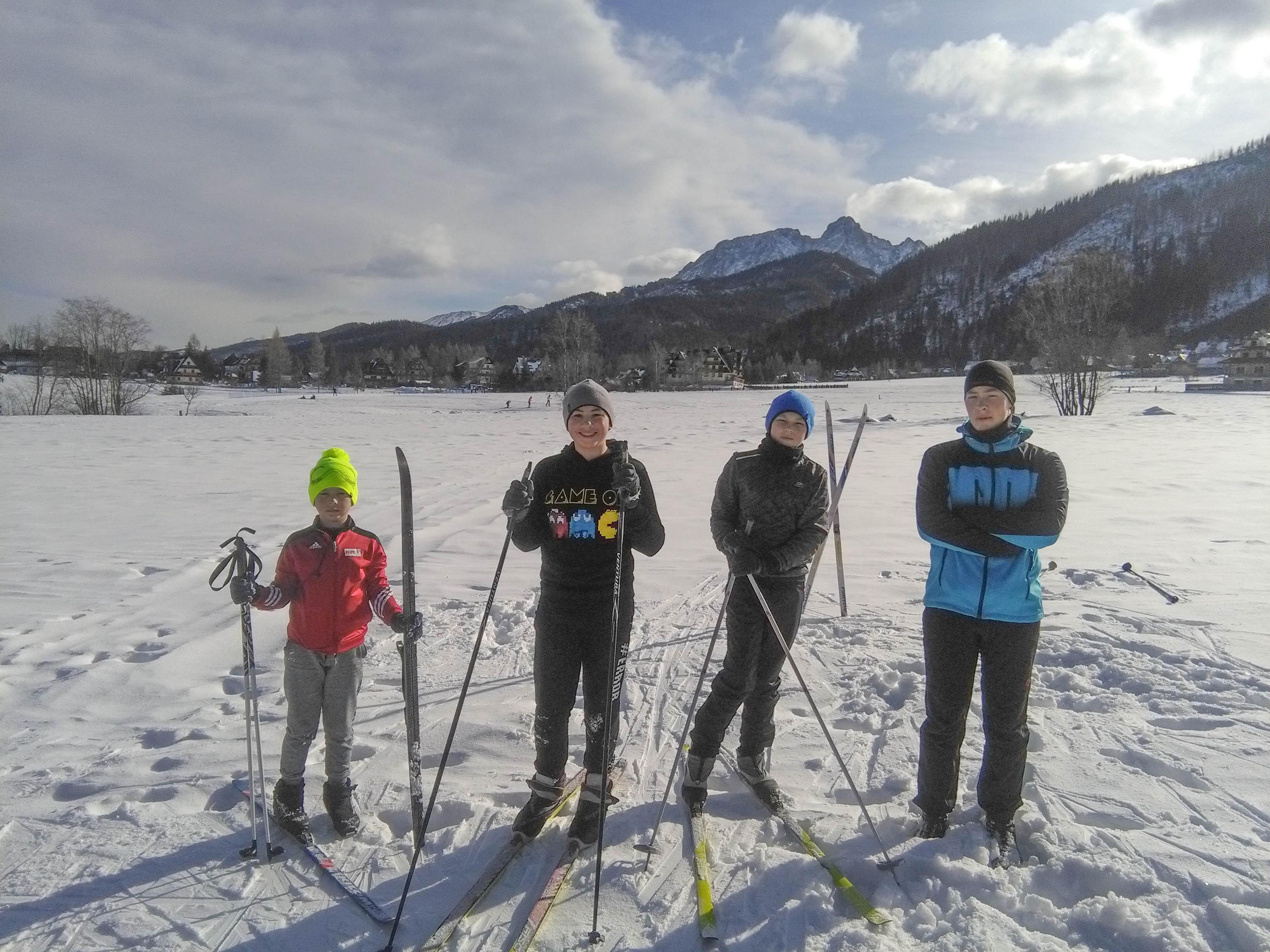 Obóz zimowy Sek. Kajakowej 2020